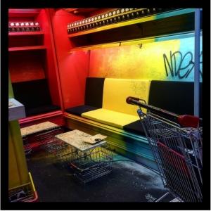 Black Supermarket, art urbain paris, lieu insolité, Carte Noire